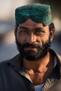 Dockworker in old Dubai