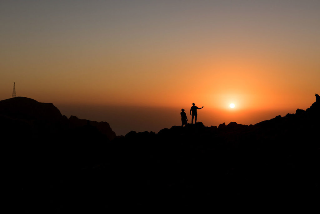 Sunset in Jebel Jais