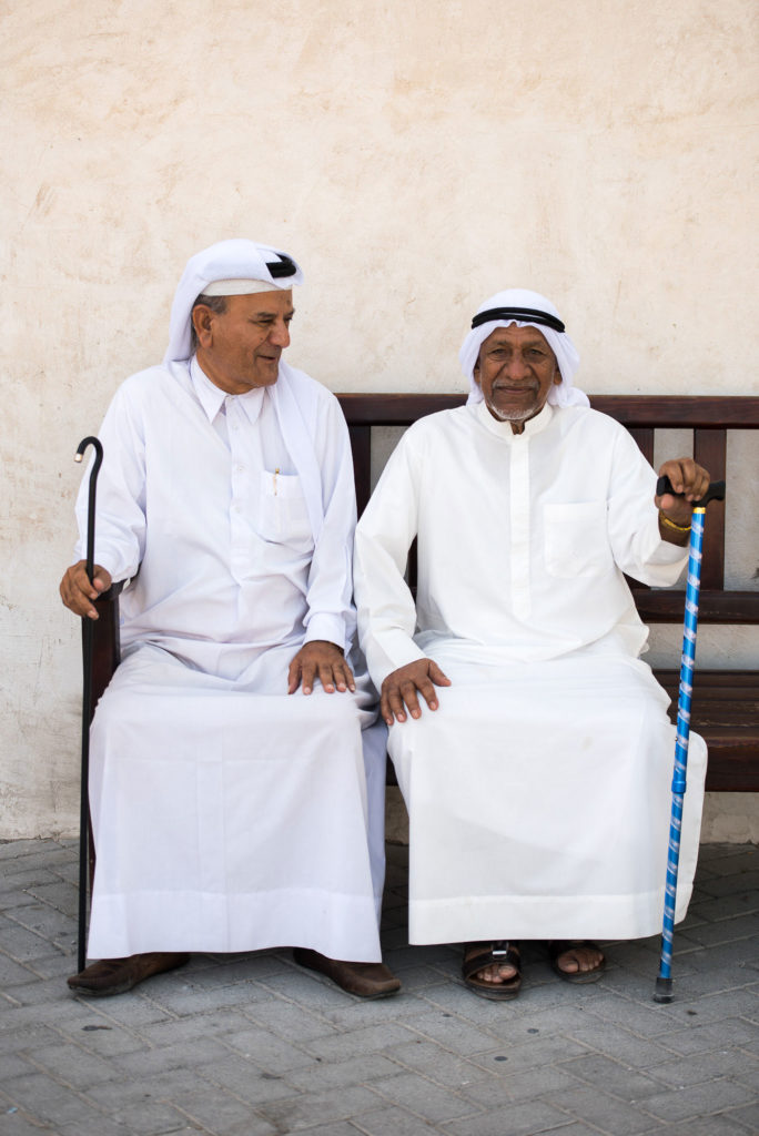 Old friends of Sharjah