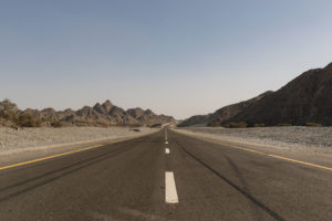 Road to Fujeirah