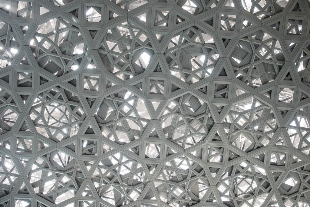 Roof of the new Louvre