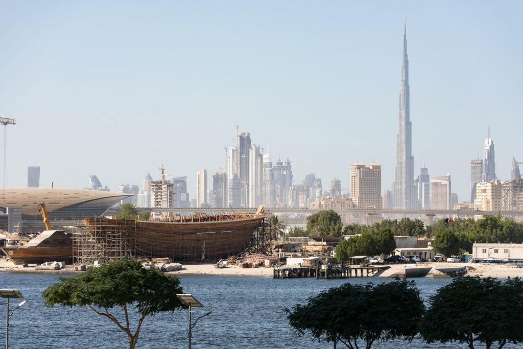 Old warf in Dubai
