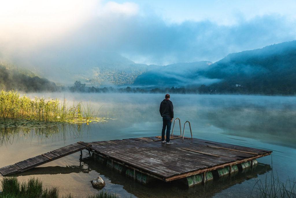 Morning at Borajko Jezero