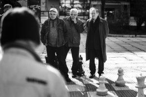 The chess men of Sarajevo