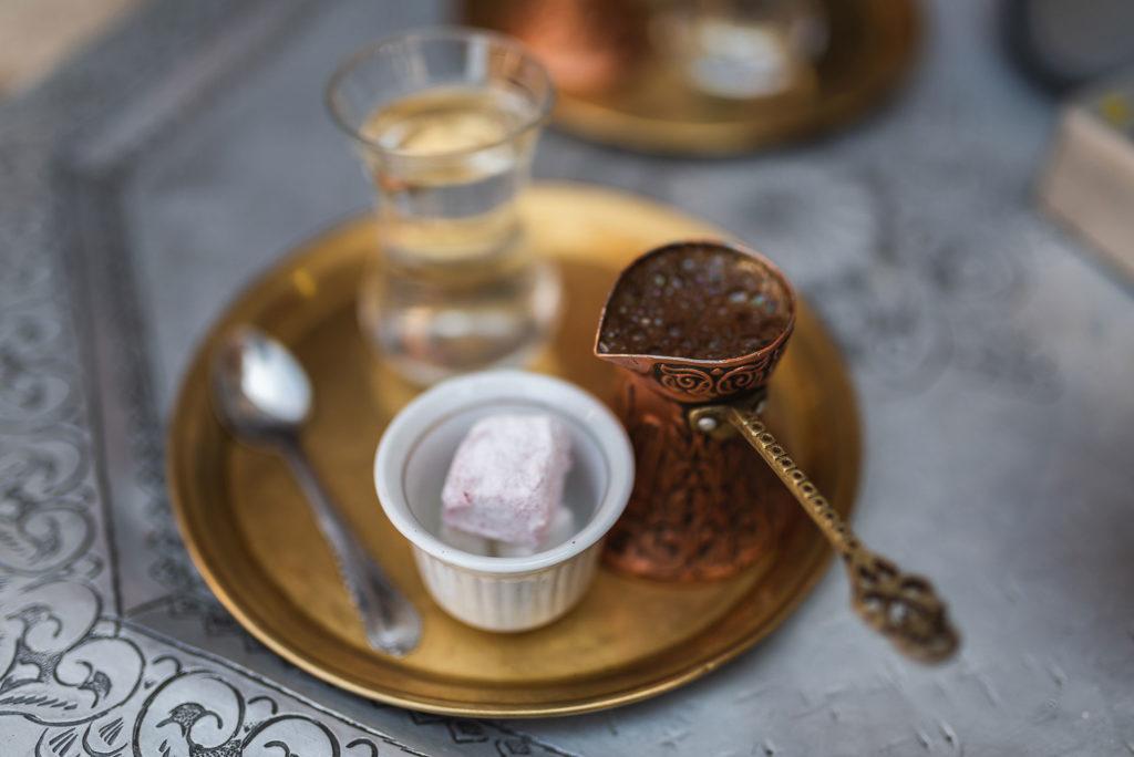 Traditional tea in Sarajevo