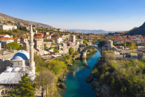 World famous Mostar