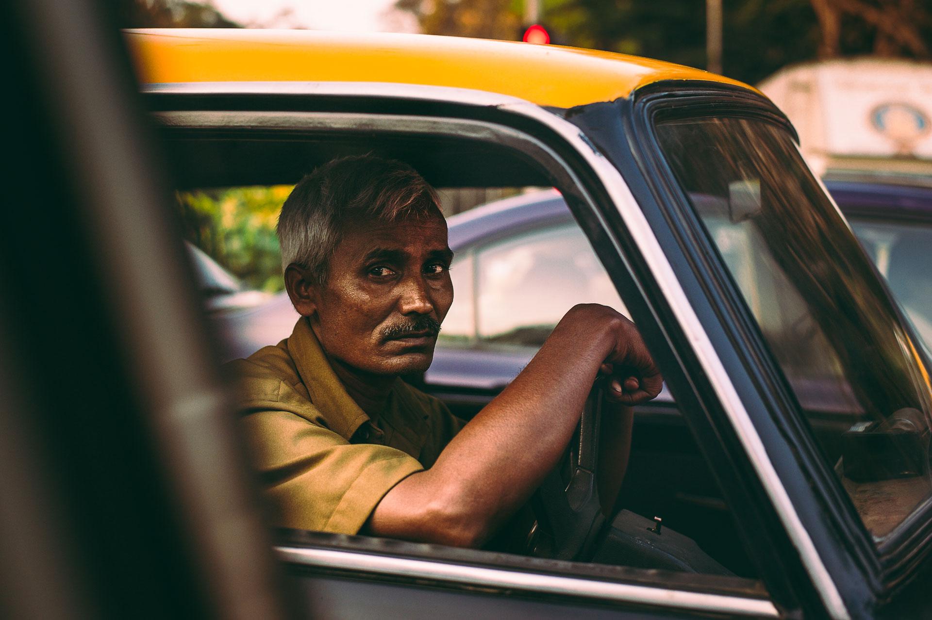 Taxidriver in Mumbai