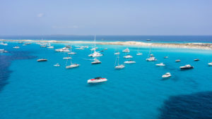 Yacht life in Formentera