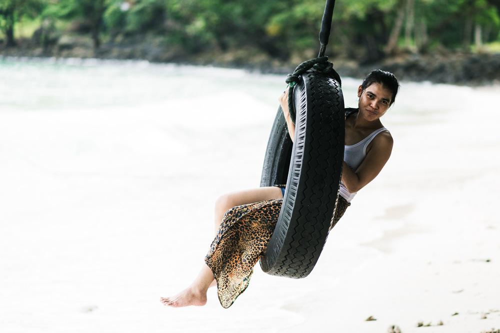 Beach life of Pulau Weh