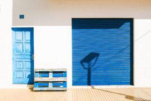 blue street formentera