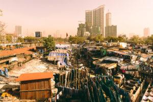 Cleaning city in Mumbai