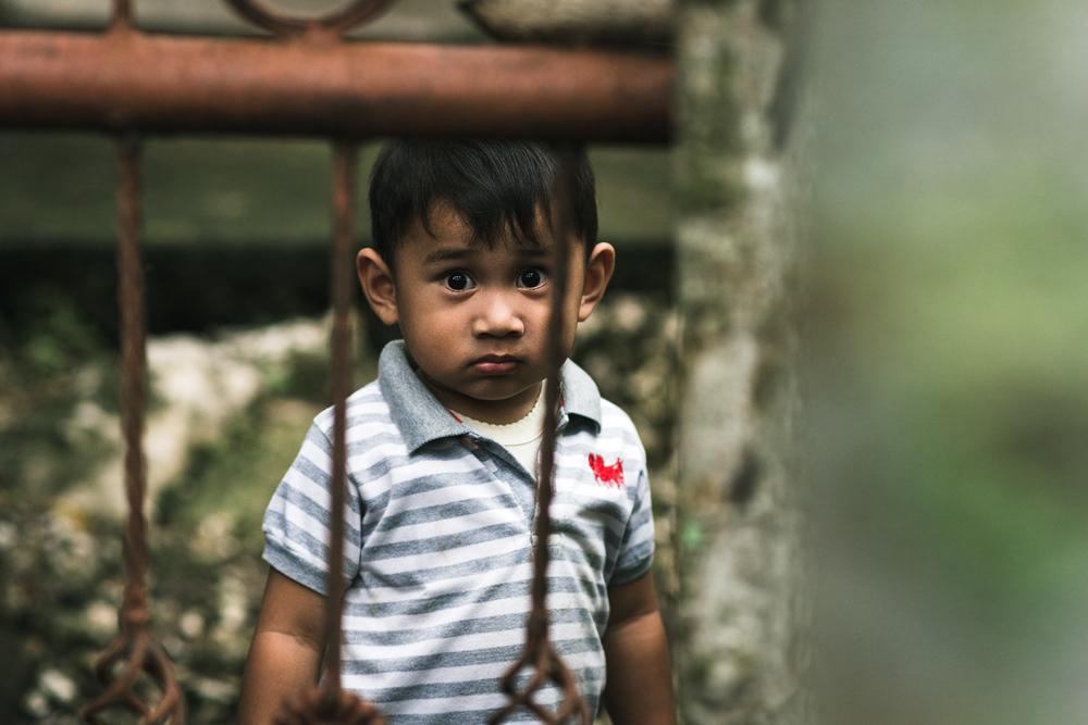 small boy in pulau weh