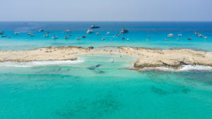 playa de ses illetes northern Formentera