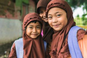 School girls of Pulau Weh