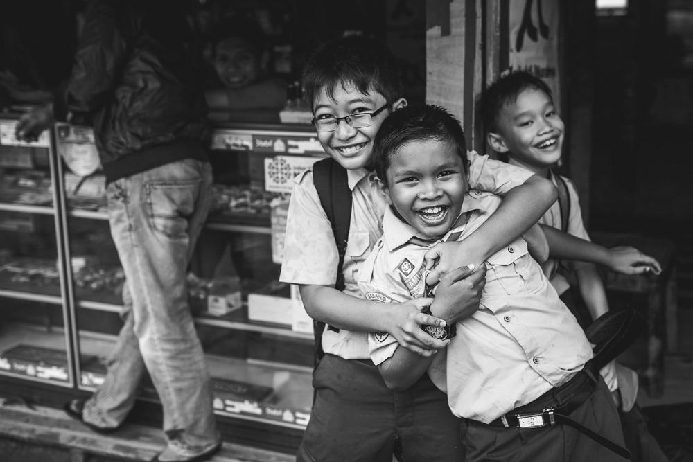 School kids in Pulau Weh