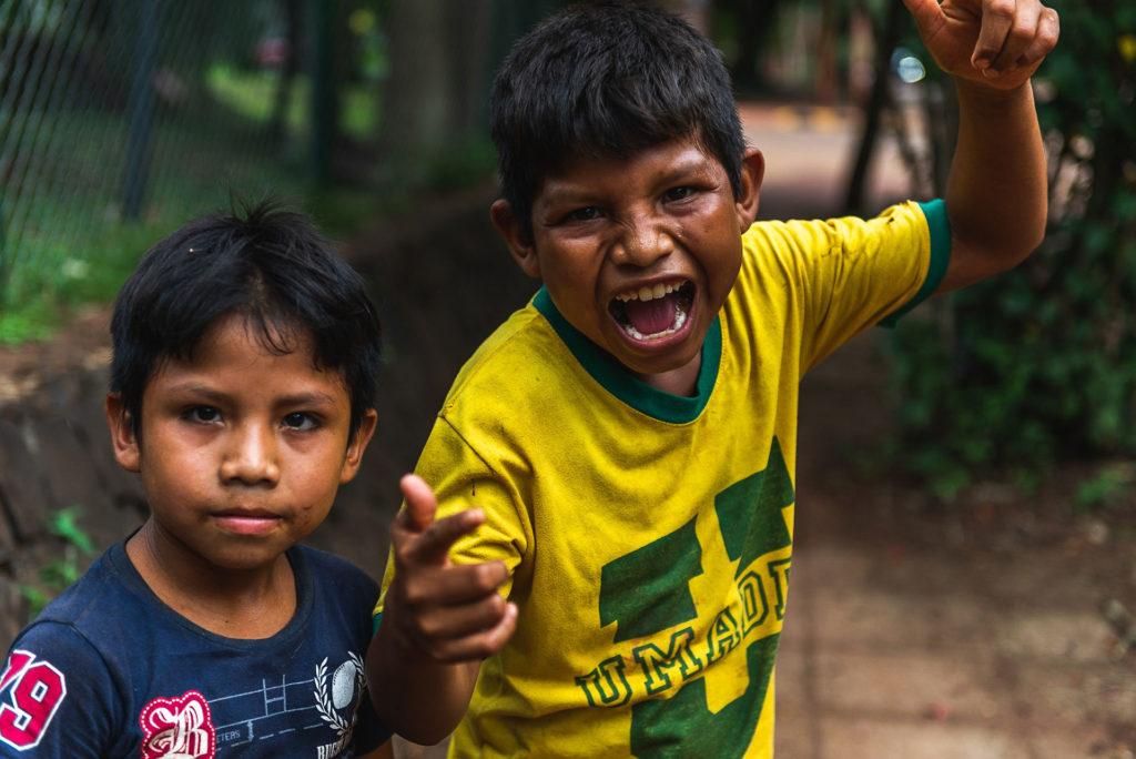 Making new friends ins Iguazu