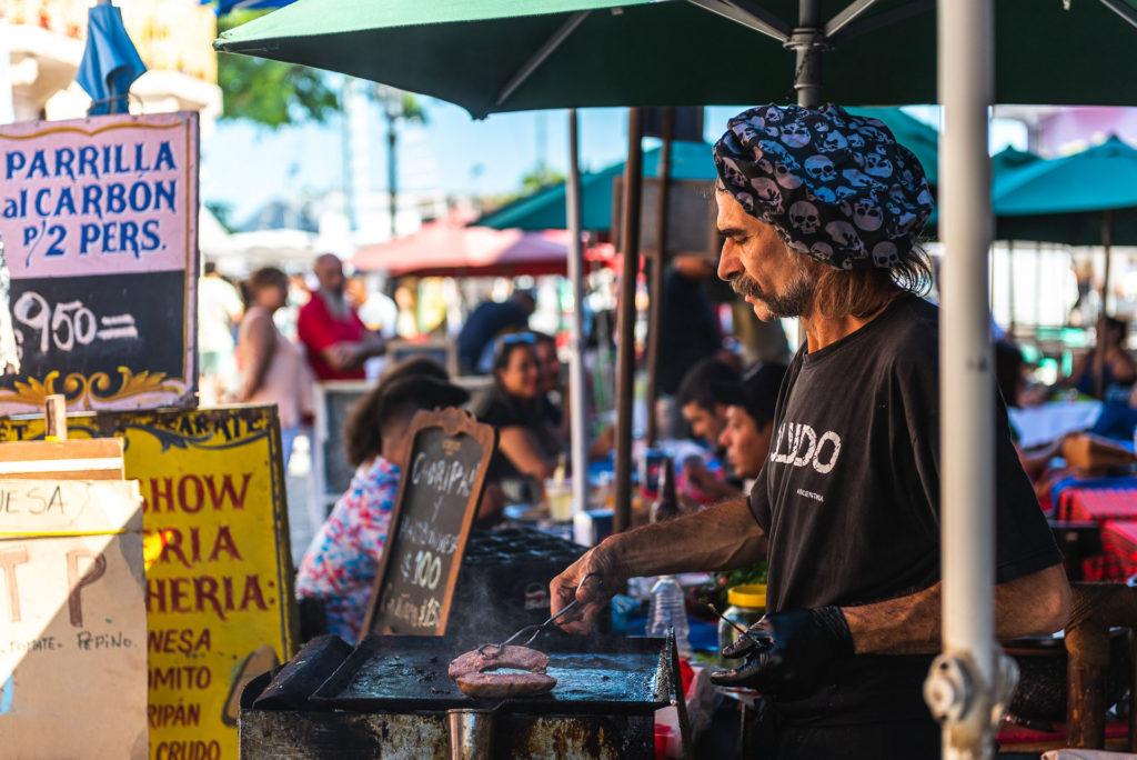 street food in La Boca