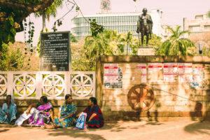 Women in the streets of Mumbai